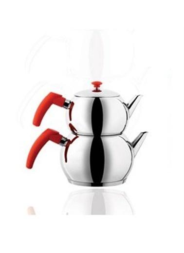 Remetta Aile Çaydanlık Kırmızı Kırmızı